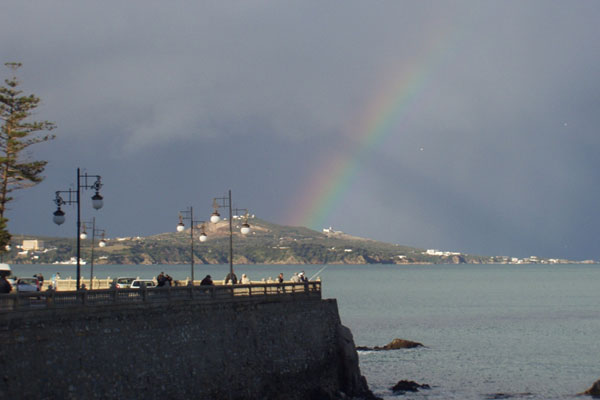 photos arc en ciel ville Annaba